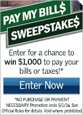 Pay My Bills Sweepstakes