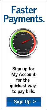 Inscríbase en Mi Cuenta para pagar las facturas más rápido.
