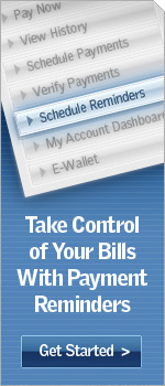 Take Control of Your Bills With Payment Reminders.