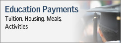 Education Payments - Tuition, Housing Meals, Activities
